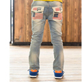 High quality 2016 Spring and Autumn kids pants boys baby Stretch joker jeans children jeans