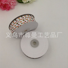New DIY Ribbon 2.5cm Wide Digital Printing Sublimation Thread Belt Small Flower Series Clothing Accessories Material