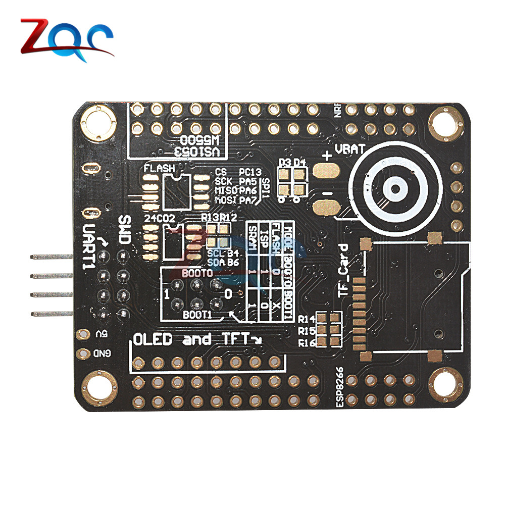 Mini STM32F103C8T6 ARM System Development Board STM32 51 Core Board Module  WIFI ESP8266 NRF24L01 Interface With Cable