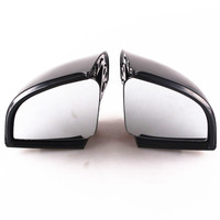 Motorcycle LED Turn Signals Rear View Mirrors For BMW R1150RT All Years Black