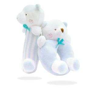 Image 3 - Newborn Cartoon Baby Boy Girl Rattles Infant Animal Hand Bell Kid Plush Toy Development Gifts Toddler Baby Toys 0 12 months