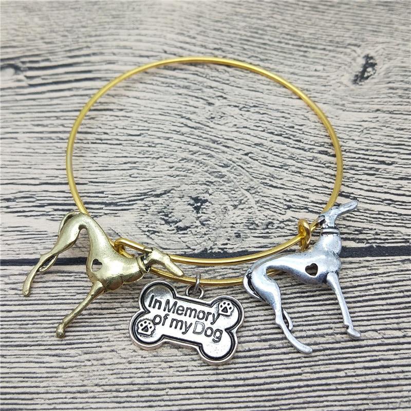 Мода Новый левретка браслеты Симпатичные левретка собака браслеты Браслеты модные животных Pet Jewellery