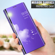 Lamorniea For LG V50 V40 V30 Case Flip PU Leather Luxury Mirror Clear Smart View Phone Back Cover Case For LG V30 V40 ThinQ 6.4 smart mirror flip phone case for lg g8 thinq case clear view cover for lg v30 plus v40 thinq covers h930