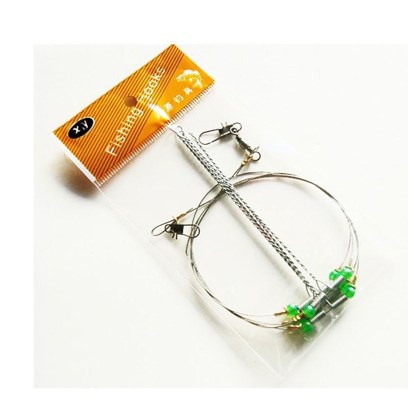 Ocean Fishing Wire Steel String Hook Support Bracket Frame 4 Accessories Fishhook Frames Long String
