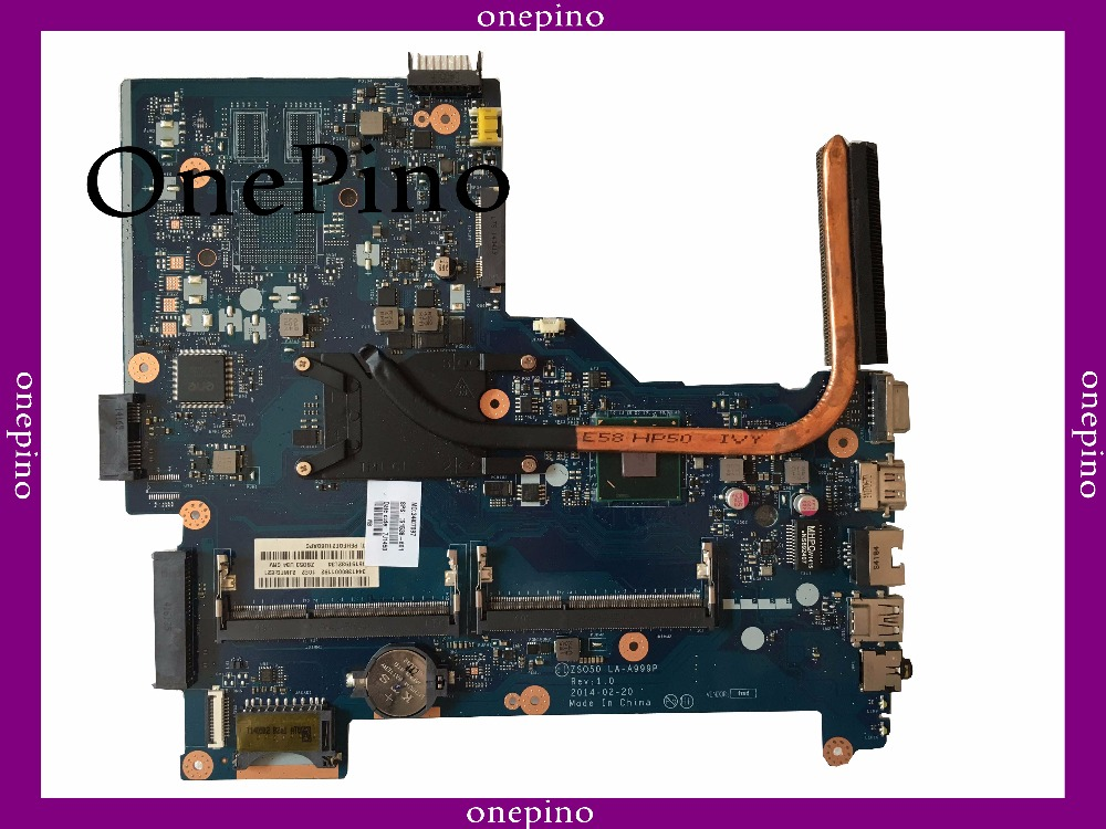 Stock LA-A999P 761538-501 fit for HP 15-R 250 G3 Laptop Motherboard i3 761538-601 761538-601 tested working