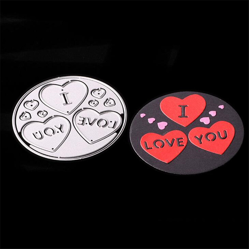 I love you Metal Die Cutting Scrapbooking Embossing Dies Cut Stencils Decorative Cards DIY album Card Paper Card Maker baby metal die cutting scrapbooking embossing dies cut stencils decorative cards diy album card paper card maker