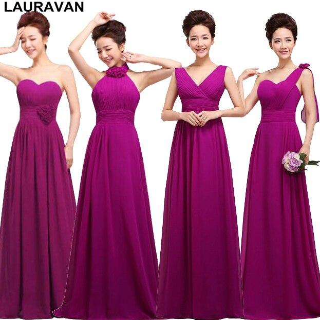 fashion bridsmaid bridal tank sleeveless   dress   adult eggplant dark purple   bridesmaid     dresses   for party of marriage free shipping