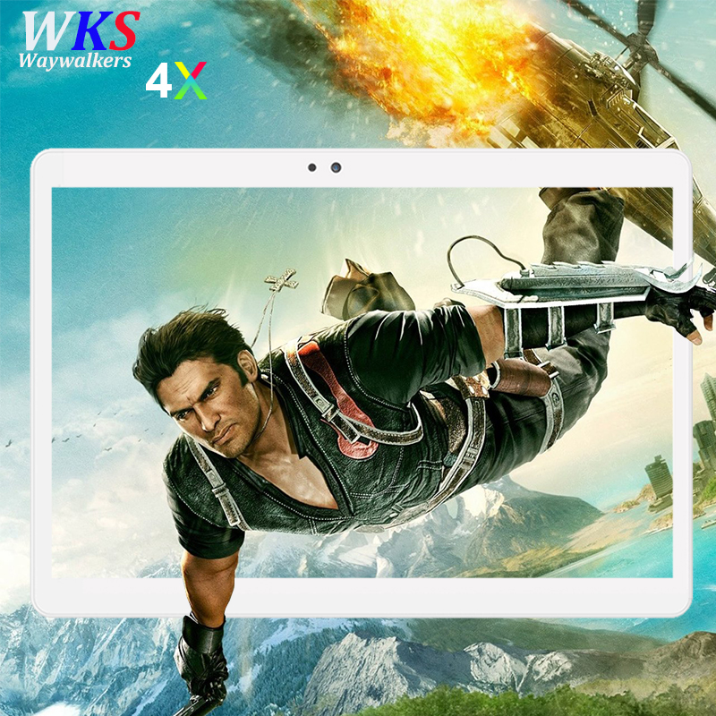 2018 Newest 10 inch 4G LTE Android 7.0 tablet pc 10 core 4GB+64GB 1920*1200 HD IPS wifi Bluetooth Smart tablets PC free shipping планшетный пк tadf dual core 2 10 pc hd ips wifi pc 64 k $5