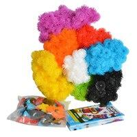 800 PZ Grappoli Palla Assemblaggio 3D Kit Puzzle Giocattoli Regalo Educativo per Bambini Palla Spina Cluster FAI DA TE Creativo Giocattolo Di Puzzle bambini