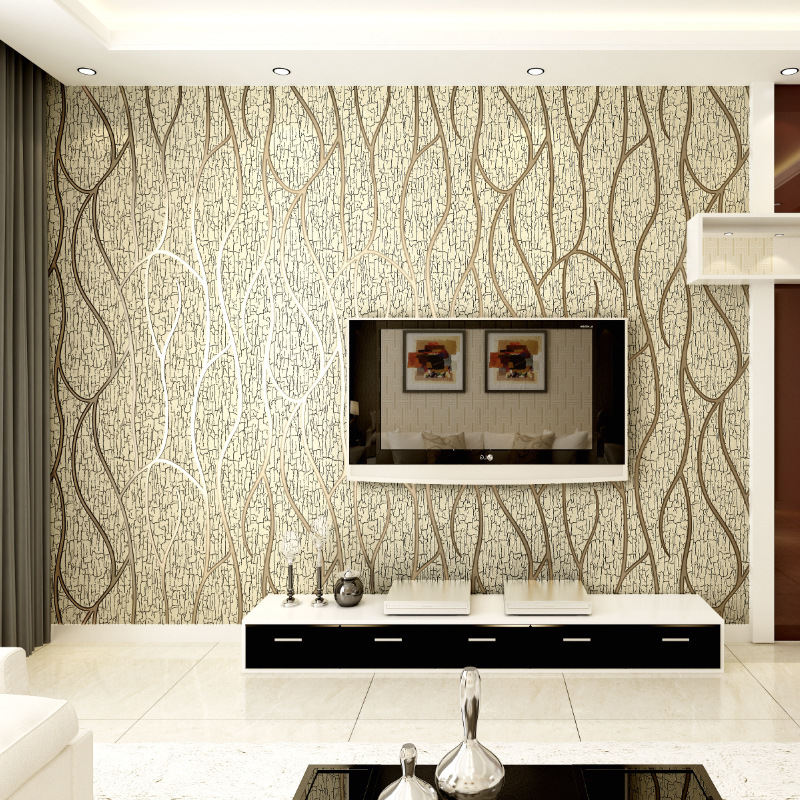 Modern 3D Embossing Deerskin line 3D Flocking Wall paper For Bedroom Living Room Home Decoration 3D WallPaper roll papel de pare shinehome sunflower bloom retro wallpaper for 3d rooms walls wallpapers for 3 d living room home wall paper murals mural roll