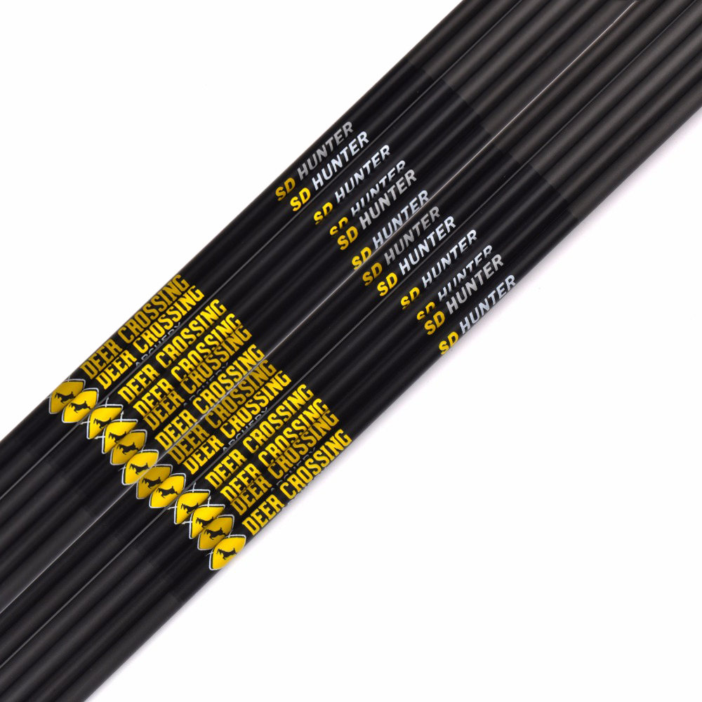 24 pieces 6mm pure carbon fiber arrow spine 600 inner diameter 4 2mm archery hunting carbon arrows 12pcs 30 Pure Carbon Arrows Shafts Spine 350 400 500 600 700 800 900 OD 5.6mm ID 4.2mm for DIY Archery Hunting Shooting