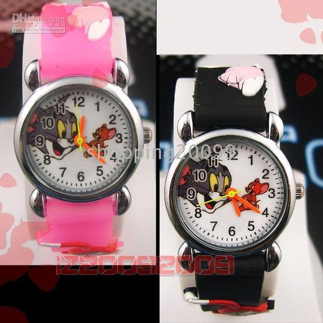 LOTS 10pcs New Cute Fashion Watch Child 3D Watches xmas gift BP