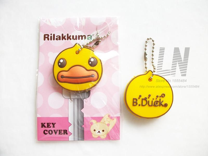 Vrhunska kvaliteta slatka crtani Mickey Hello Kitty poklopac ključ - Modni nakit - Foto 3