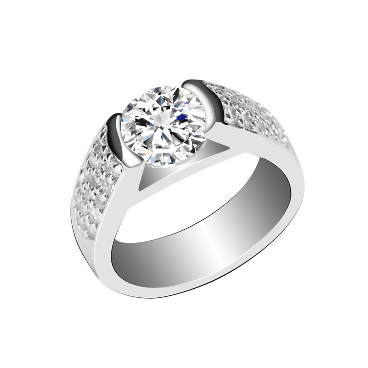 Sale Crystal Party Ring Wedding Rings For Women Anel Plata