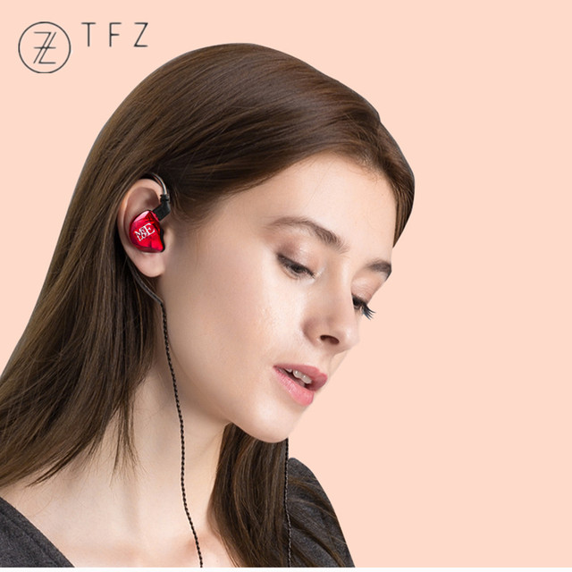 TFZ MY LOVE III HIFI Monitor In Ear Earphone Earplug Graphene Double Moving Circle With Detachable Cable TFZ AIR MY T2 S2 KING 6