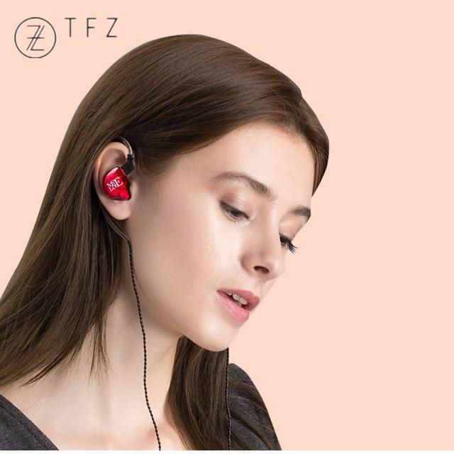 TFZ MY LOVE III HIFI Monitor In Ear Earphone Earplug Graphene Double Moving Circle With Detachable Cable TFZ AIR MY T2 S2 KING 6