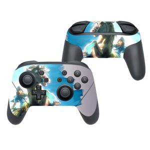 Image 4 - The Legend of Zelda Cover Decal Skin Sticker for Nintendo Switch Pro Controller Gamepad Joypad Nintend Switch Pro Skin Stickers
