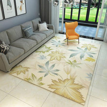 Simple Nordic Modern Carpet American New Chinese Flower Living Room Coffee Table Sofa Bedroom Bedside Mat living room coffee table simple modern nordic style carpet home sofa rectangular machine washable bedroom bedside mat