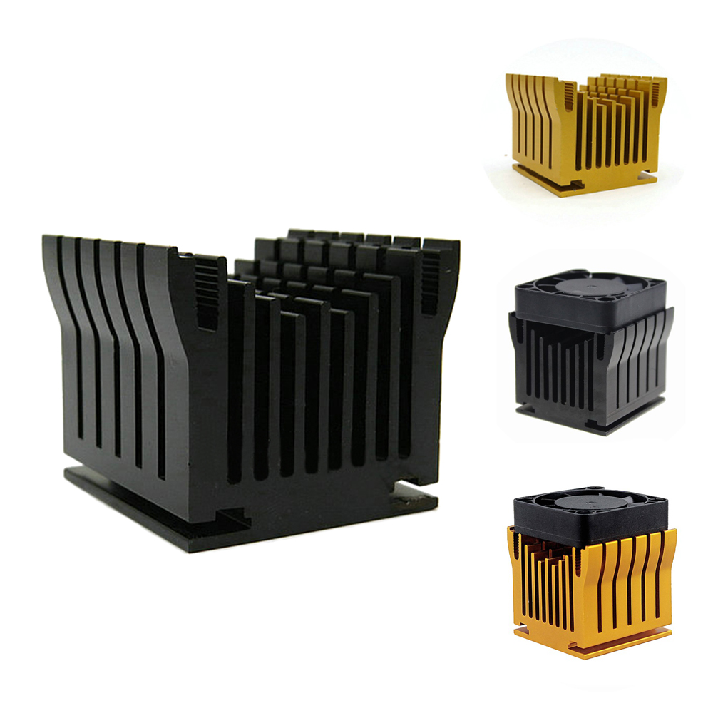 20 Pieces DIY  Northbridge Comes with 40x10mm Fan Aluminium Heatsink Cooler For PC Computer Chipset Cooling