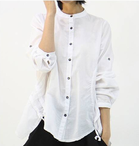 White Womens Shirt Photo Album - Fashion Trends and Models