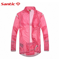 Santic Maillot Ciclismo Pink Women Mountain Cycling Jersey Sunscreen Champion Clothing Triathlon Mtb Jersey lc07009