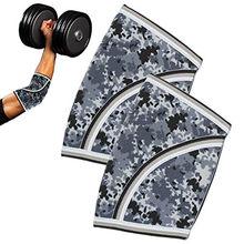 7mm cotovelo mangas (par) envoltórios de pulso pesados-suporte e powerlifting, tênis-cinta de neoprene para ambas as mulheres e