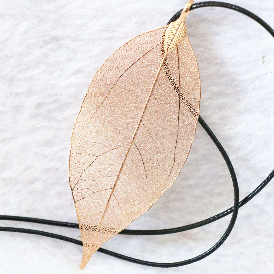 Best продажи лист кулон золотой-цвет одежды длинное ожерелье цепь Hot распродажа, модная обувь womoen высокого качества Элегантные украшения b1075