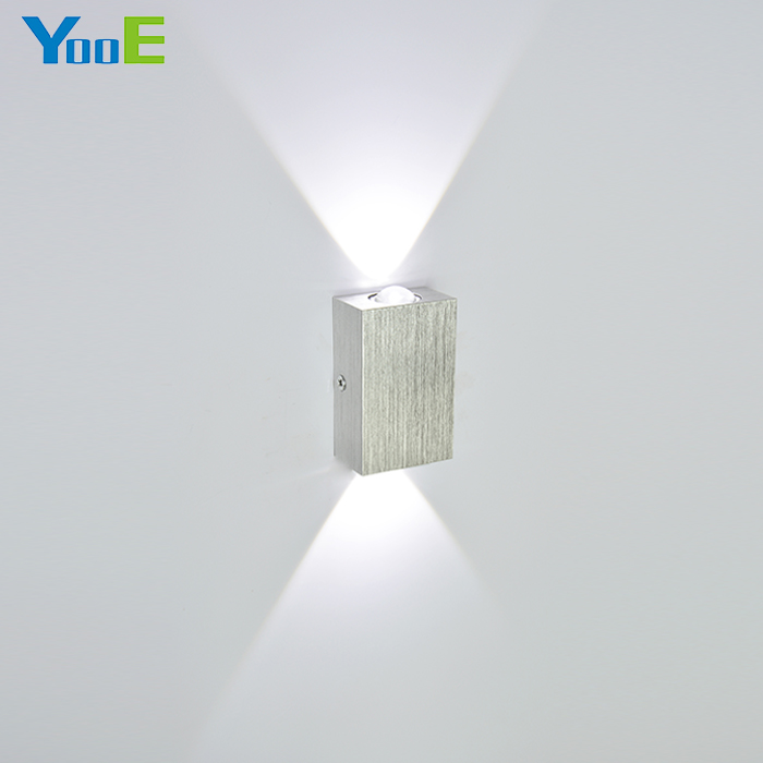 YooE Modern 2W led wall light AC110V/220V High Quality Wall Sconce Restroom Bedroom Reading Wall Lamp Decoration Indoor Lighting