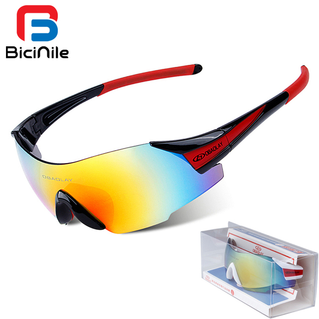 4b39c95c42 Cheap Color Mirror Cycling Glasses Men Cycling Eyewear For Sports Bicycle  Cycling Goggles Bike Glasses Sports