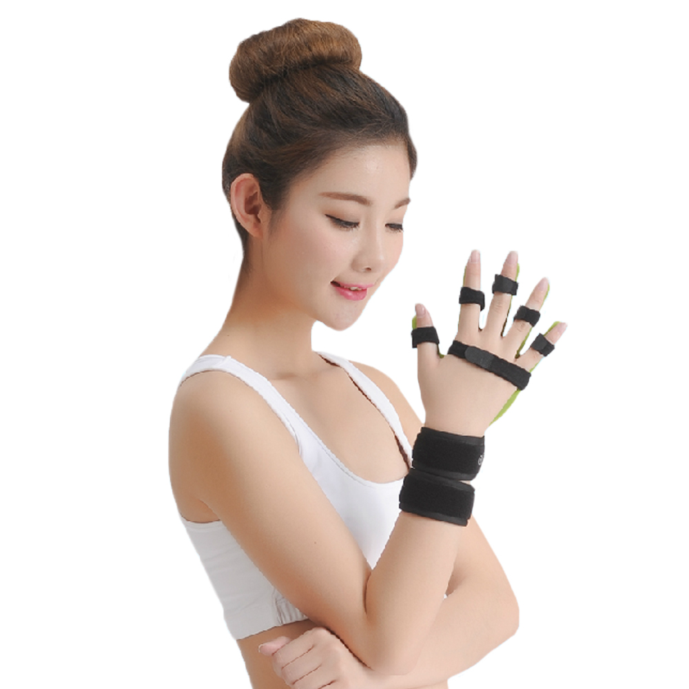 Medical Adjustable Separate Finger Orthosis Stroke Cerebral Infarction Hemiplegia Recovery hand wrist orthosis separate finger flex spasm extension board splint apoplexy hemiplegia right left men women