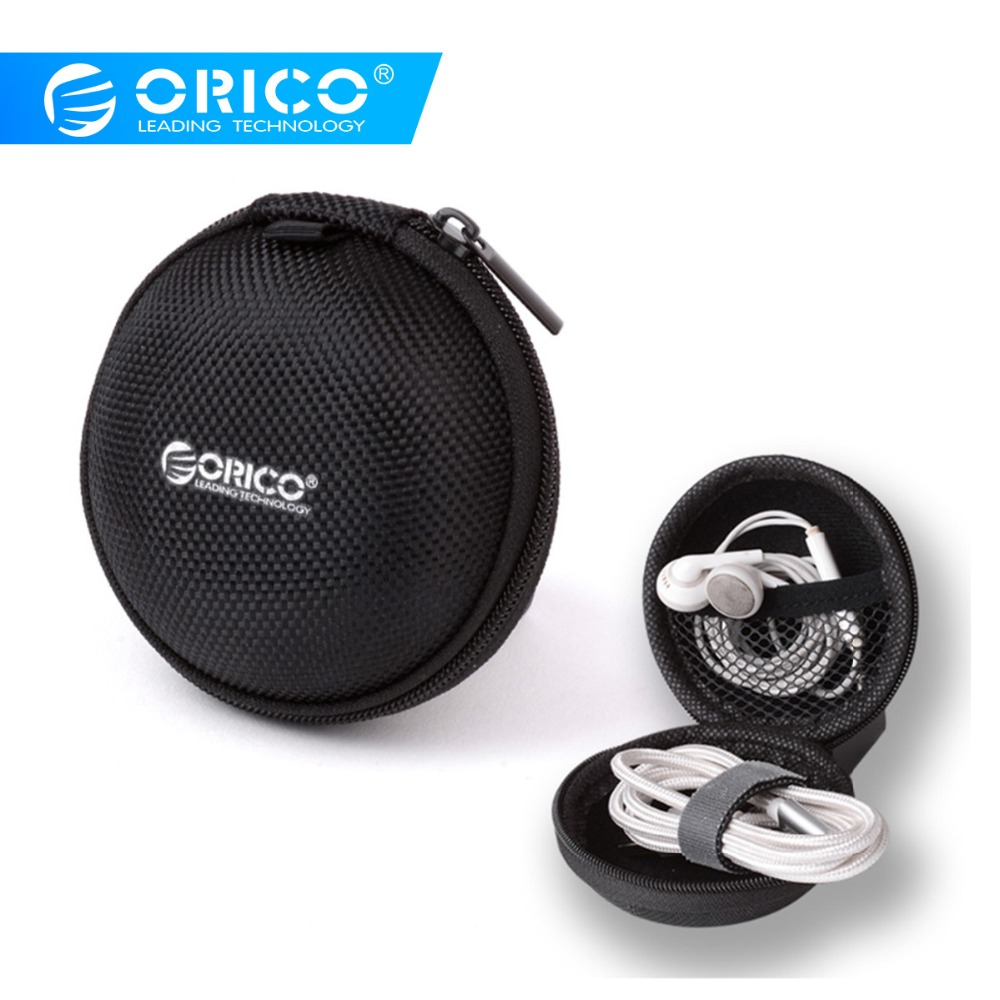 ORICO Protection Carrying Hard Case Storage Box For Headphone Earphone SD Cards
