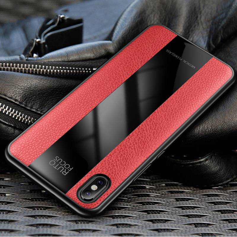 Fashion Back Cover for iPhone XR X XS Max Case Luxury Soft PU Leathe Phone Cases for iPhone 8 6 Plus 7 Case Slim Coque Case in Fitted Cases from Cellphones Telecommunications
