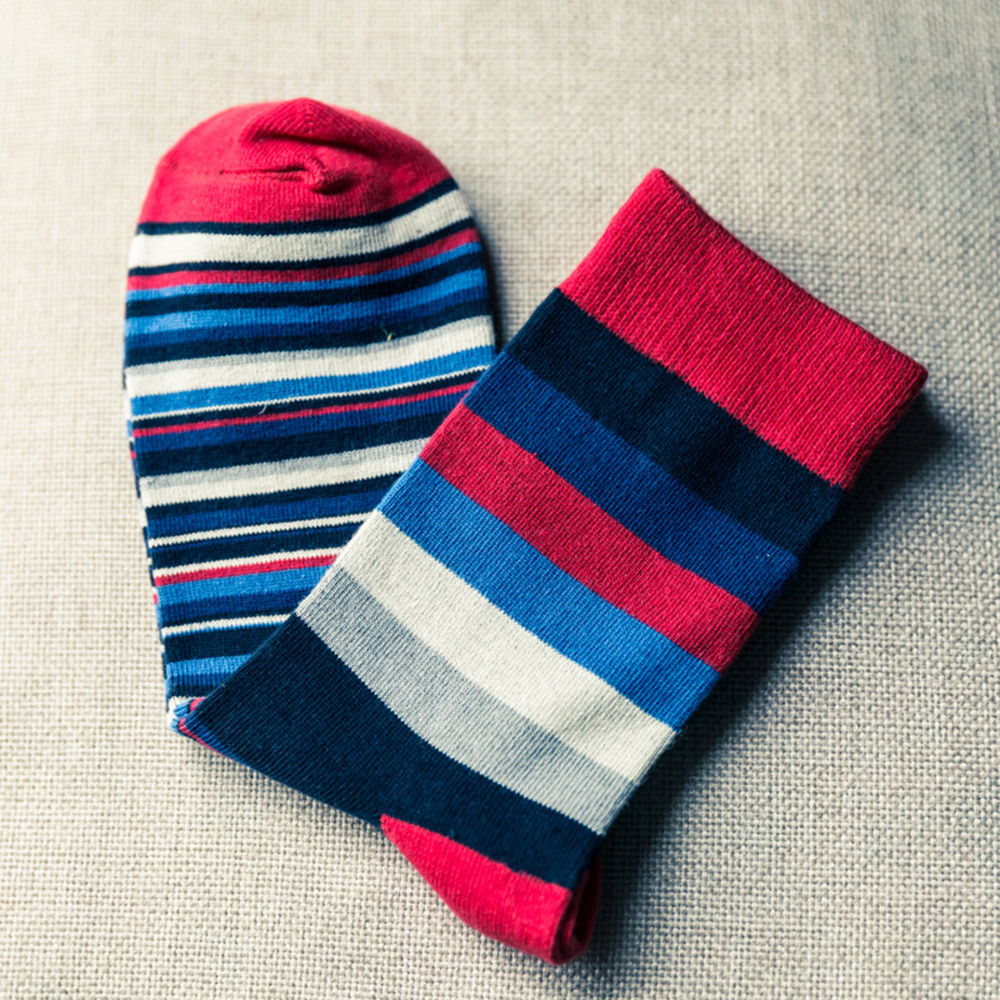 New Striped Combed autumn and winter fashion cotton socks men Funny Pattern crew socks Casual happy socks Meias SIZE 41-46