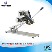 ZY-RM5-C Words and date printer/Manual Hot Stamping Date Coding Machine