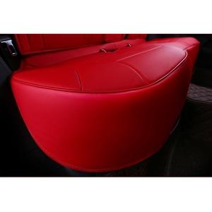 Image 4 - kokololee auto custom real leather car seat cover For vw golf 4 5 VOLKSWAGEN polo 6r 9n passat b5 b6 b7 Touareg Tiguan car seats