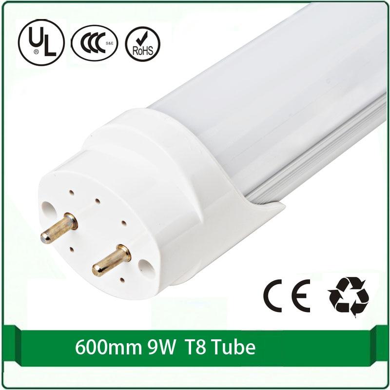 4pcs Free shipping whole sale t8 t8 fluorescent tubes 9W G13 <font><b>LED</b></font> tube t8 fixtures 2&#8242; <font><b>60cm</b></font> <font><b>led</b></font> fluorescent <font><b>led</b></font> light fixtures
