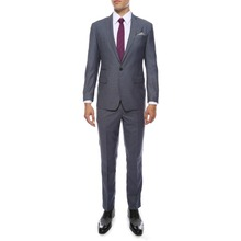 Custom Made Mens Grey Slim Fit Groom Tuxedos 2019 New Groomsmen Wedding Prom Suits (Jacket+Pant)