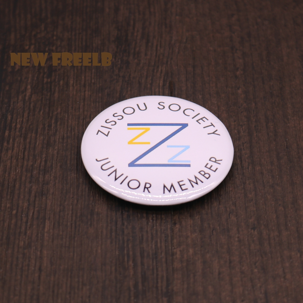 The Life Aquatic Pin Brooches Pinback Buttons With Steven Zissou Society Junior Member Fashion Jewelry for Women and Men fans
