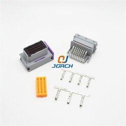 24 pin ecu samochodowych złącze męskie i żeńskie 211PC249S80005 HCCPHPE24BKA90F