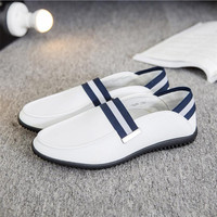 Big Size 39 44 High Quality Genuine Leather Men Shoes Soft Moccasins Loafers Fashion Brand Men