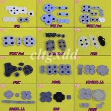cltxdd Conductive Rubber Button D-Pad Pads Repair For WII Pro WIIU Pad for Nintendo GC DSL SNES NES For 3DS 3DSXL LL стоимость