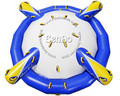 W077 L 13' x W 13' x H 5.5 'verão parque de jogos de água inflável saturno/rockit inflável para 8 pessoas