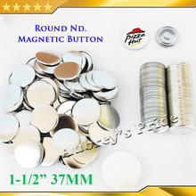 Magnetic-Button-Supplies Button-Maker Badge 37mm for NEW Professional 1-1/2-Materials