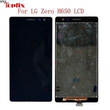 Em estoque original lcd display touch screen digitizer assembly para lg zero h650/lg class 100% testado substituição lcd para lg h650