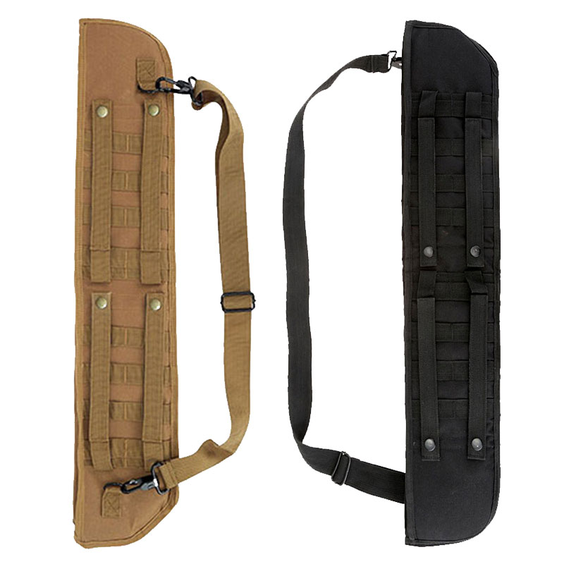 Tactical Hunting Multi function Rifle Scabbard Backpack Organizer Holster Shoulder Sling Case molle bag Archery quiver arrow cas