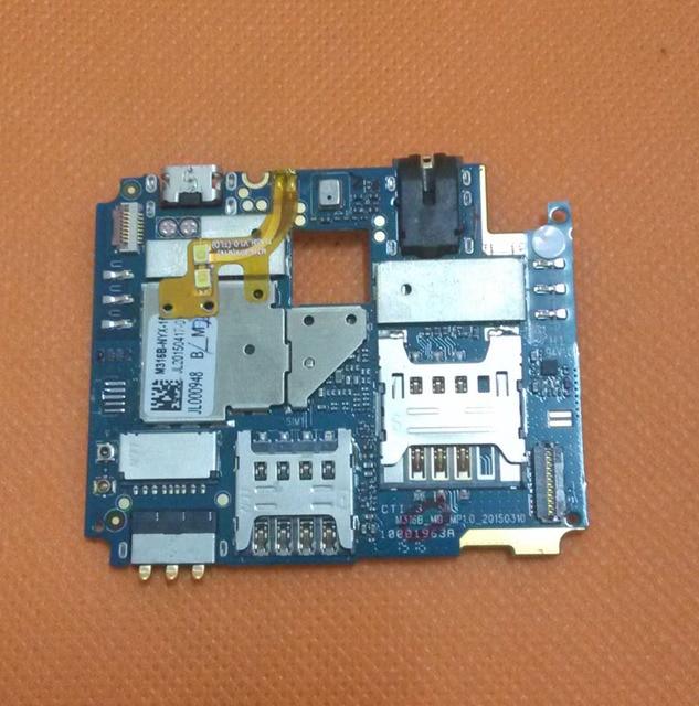 Usado Original motherboard 2G + 16G mainboard para UMI Martelo 4G LTE FDD MTK6732 Quad Core 5 Polegada HD1280X720 Frete grátis