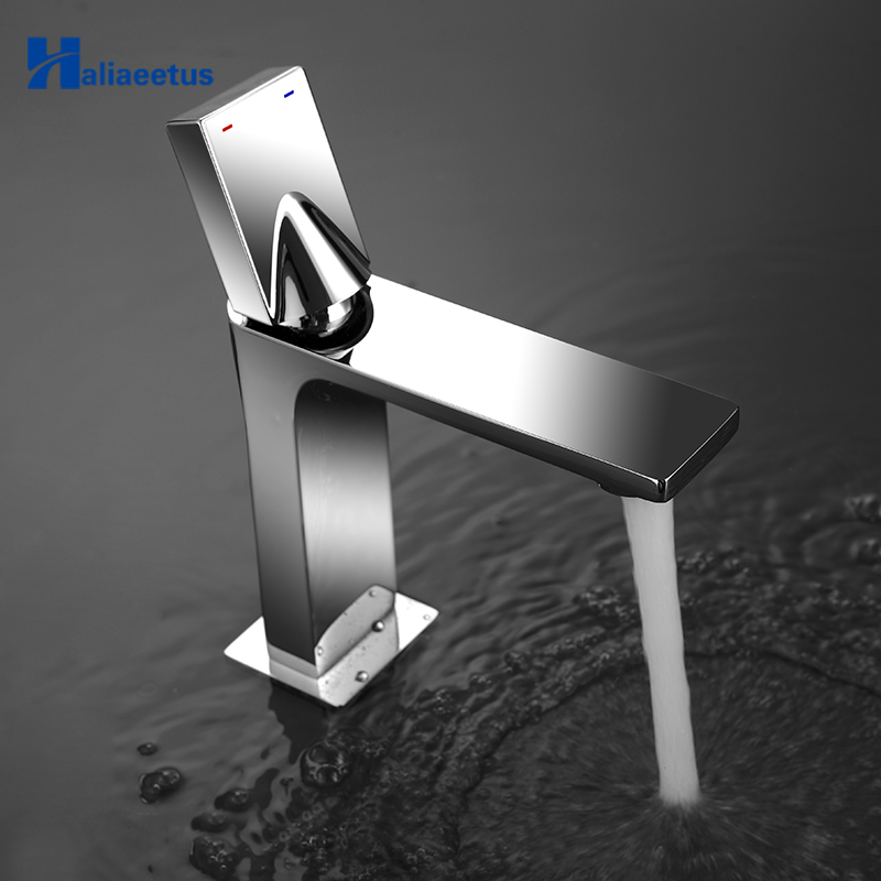 Фотография Royal Guard Style Faucet Cold And Hot Water Basin Faucet Brass Made Deck Mounted Basin Sink Mixer Tap Qomolangma Lavatory Faucet