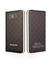 Belpink 5V2. 1A 10000 mah Powerbank harici meyilli Taşınabilir Telefon Şarj Çift USB Samsung iPhone Için 6 6 artı xiaomi huawei