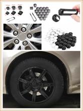 auto shape 20pcs car wheel cover screw protector nut dustproof 17 19MM for Jeep Liberty Trailhawk Commander Hurricane Gladiator