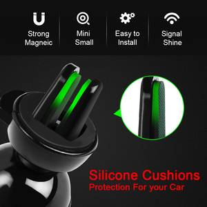 Image 4 - Metrans Magnetic Car Phone Holder For iPhone 360 Degree Air Vent Outlet Mount Stand Holder For Your Mobile Phone telefon tutucu